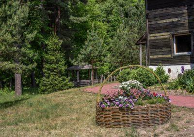 Laukdvaris - lauko terasa